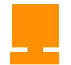 Patentiert: Quadrat mit einem stilisierten Auszeichnungssiegel mit Schleife