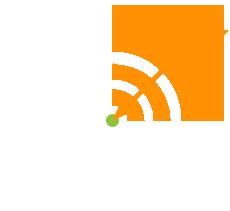Präzise: stilisierte Zielscheibe mit Pfeil mittendrin